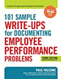Image of 101 Sample Write-Ups for Documenting Employee Performance Problems: A Guide to Progressive Discipline & Termination