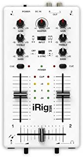 IK Multimedia iRig Mix DJ-style mixer for smartphones and tablets - Silver