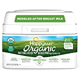 Happy Family Baby Organic Infant Formula Milk Based Powder with Iron, Stage 2, 6-12 month (Pack of...