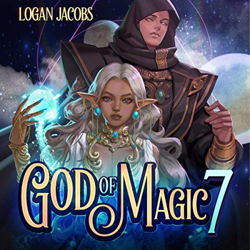 God of Magic 7 audiobook cover art