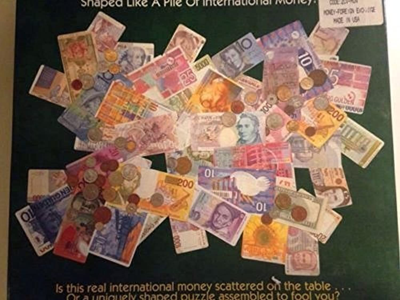 Conversation Pieces Trompe L'oeil International Money Puzzle by Ceaco