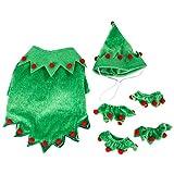Obestseller Neue Haustier Hund Weihnachten Katze lustige Kostüme Stil Mode Katze Hund Kleidung Elf Hut Kleid Katze Hund Weihnachten Kostüm