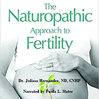 The Naturopathic Approach to Fertility audiobook cover art
