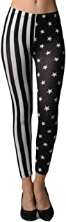 Dinamit Jeans 4th of July Independence Day American Flag Stars and Stripes Leggings