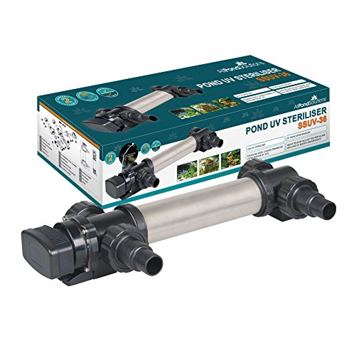 All Pond Solutions SSUV-36 Aquarium UV Clarifier/Steriliser, 36 W
