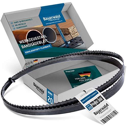 Bayerwald Werkzeugstahl Bandsägeblatt - 1505 x 13 x 0.36 x 14 / Holz, NE-Metalle, Kunststoff, dünne Bleche/Sägeband passend für Elektra beckum BS 230 uvm.
