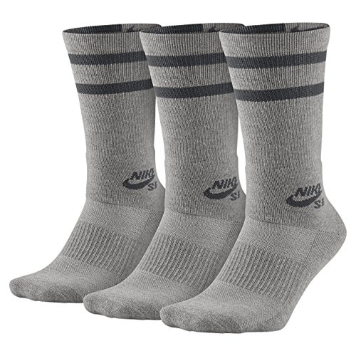 Nike Crew Socks - 3 Pares de Calcetines Unisex Adulto