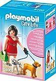 Playmobil vrouw met puppy's