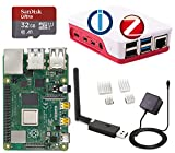 Raspberry Pi 4 Model B 4 GB (4 GB) con ioBroker + ZigBee USB Stick Komplett-Set
