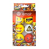 Emoji EMGB001 Lot de 6 Balles de...