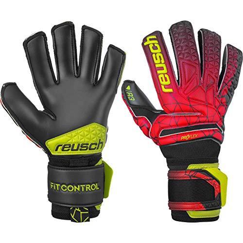 Reusch Fit Control Pro R3 Torwarthandschuh, Black/fire red/Black, 10.5