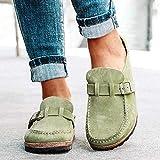 Sandalias para Mujer Chanclas Verano Punta Redonda Pisos Antideslizantes Zapatos con Suela Blanda Zapatillas con Punta Cerrada Zapatos para Caminar al Aire Libre Playa Agua Sandalias deporti