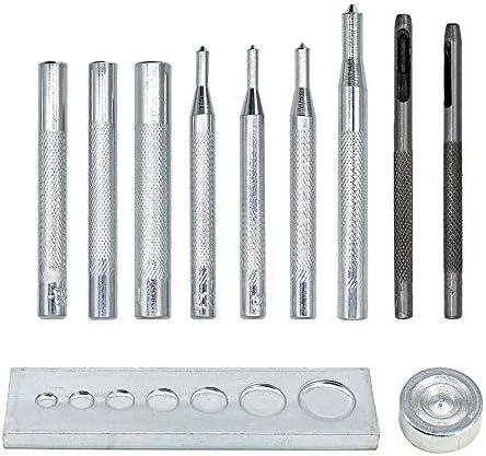 Hollow rivet tool