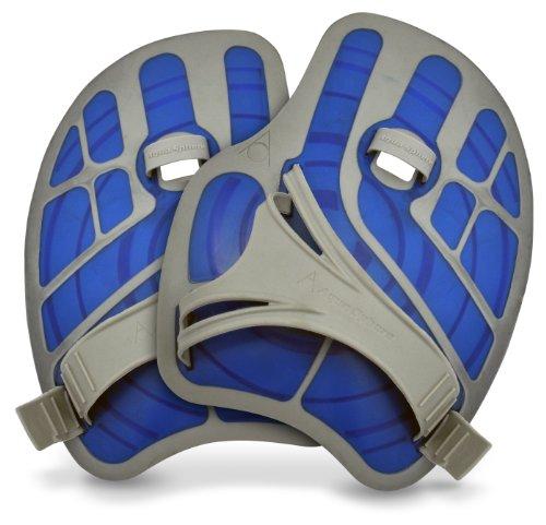 Aqua Sphere Palme main Bleu/gris