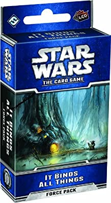 Star Wars LCG: It Binds All Things from Fantasy Flight Publishing