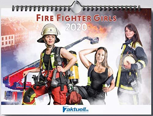 Kalender 2020 Feuerwehrfrauen 112% FireGirls Wandkalender A3 7aktuell