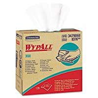 WYPALL X60 Wipers, HYDROKNIT, 9 1/8 x 16 4/5, 126/Box (並行輸入品)