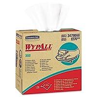 WYPALL X60 Wipers, HYDROKNIT, 9 1/8 x 16 4/5, 126/Box (並行輸入品)
