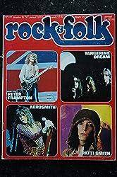ROCK & FOLK 119 DECEMBRE 1976 Peter FRAMPTON TANGERINE DREAMS AEROSMITH Patti SMITH LAVILLIERS BEE GEES