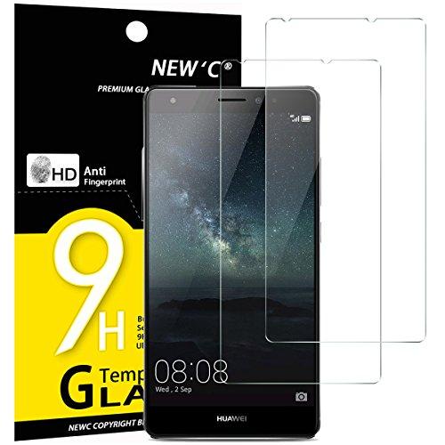 NEW'C 2 Pezzi, Vetro Temperato Compatibile con Huawei Mate S, Pellicola Prottetiva Anti Graffio, Anti-Impronte, Durezza 9H, 0,33mm Ultra Trasparente, Ultra Resistente