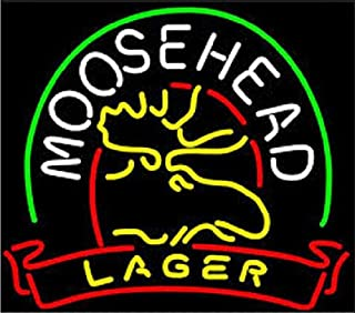 moosehead neon sign