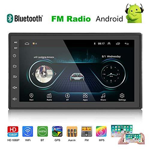 YELLOL Ospite Stereo Autoradio, Android da 7 Pollici Auto Universale di Navigazione Integrato Macchina MP5 4 Radio GPS Android 8.1 del Navigatore,2+16G