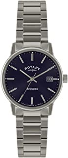 Rotary GB02874/05 Mens Avenger Blue Silver Watch