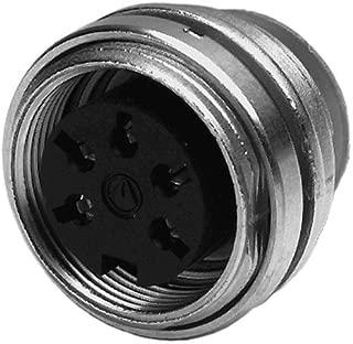 Circular DIN Connectors 5 Pin female; Rear Pnl Mnt (1 piece)