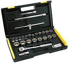Stanley 86-477 Drive Metric Socket 27 Piece Set