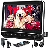 Vanku 10.1' Car DVD Player with Headrest Mount, Wall Charger, Headphone, HDMI, Support 1080P Video, AV in Out,...