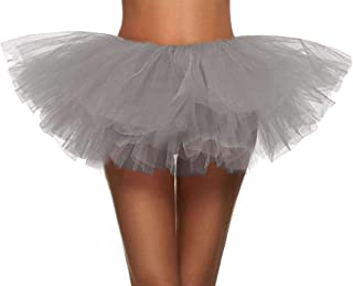 Simplicity Women's Classic 5 Layered Tulle Tutu Skirt