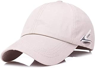 MKJNBH Summer Men's Hat Simple Cotton Baseball Caps Style Fashion Male Bone Cap Adjustable Size Dad's