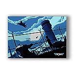 ZOEOPR Poster Top Gun Classic Film Film Poster druckt Kunst