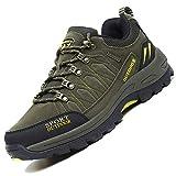 Unitysow Scarpe da Trekking Uomo Donna Arrampicata Sportive All'aperto Scarpe da Escursionismo Sneakers Unisex Impermeabili Traspiranti Passeggiate Stivali 35-47,Blu Scuro,EU42