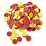 hand2mind Foam Two-Color Counters for Kids Ages 5-8,...