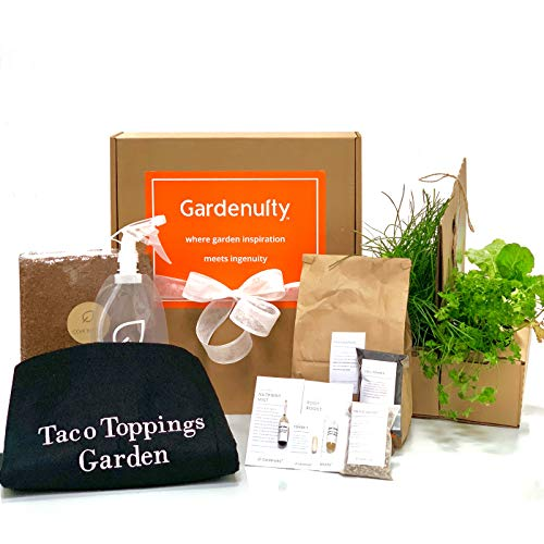 The Taco Toppings Garden | The All-in-One Square Foot Container Gardening Kit | Grow Anywhere