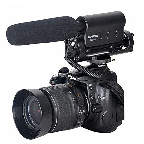 ATian-TAKSTAR la SGC-598 Fotografía Entrevista Micrófono MIC para Nikon Canon...