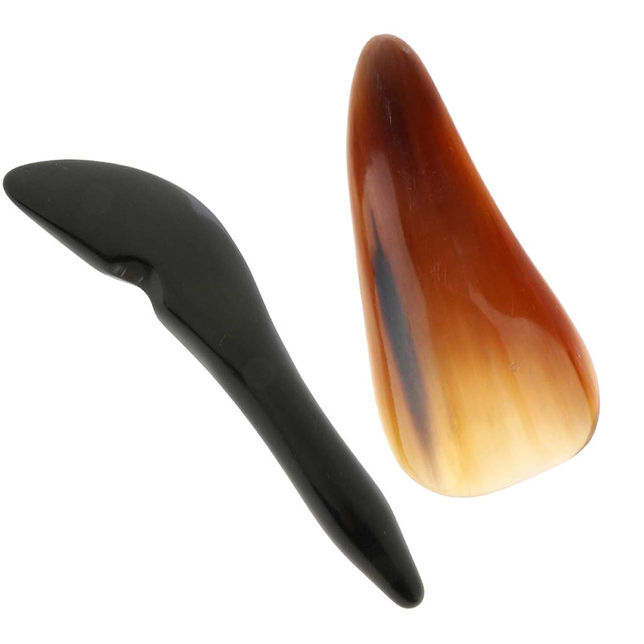 D DOLITY マッサージツール グアシャ スクレーパー ボード スクレーピング 使いやすい 2個入