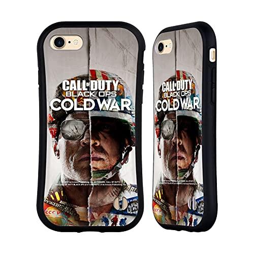 Head Case Designs Licenza Ufficiale Activision Call of Duty Black Ops Cold War Primario Arte Chiave Cover Ibrida Compatibile con Apple iPhone 7 / iPhone 8 / iPhone SE 2020