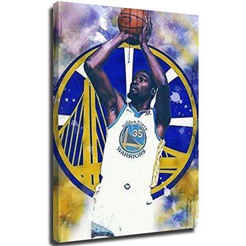 Ghychk Póster deportivo de baloncesto Pop Art Superstar King Lebron-James 3D impermeables para sala de estar, dormitorio, marco de madera, listo para colgar, 20 x 30 cm