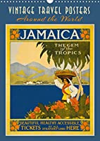 Vintage Travel Posters around the World (Wall Calendar 2021 DIN A3 Portrait): Iconic artwork posters from 1920-1950 (Monthly calendar, 14 pages )