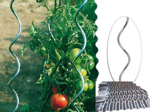 Tomaten-Spiralstab 180 cm verzinkt (10 Stück)