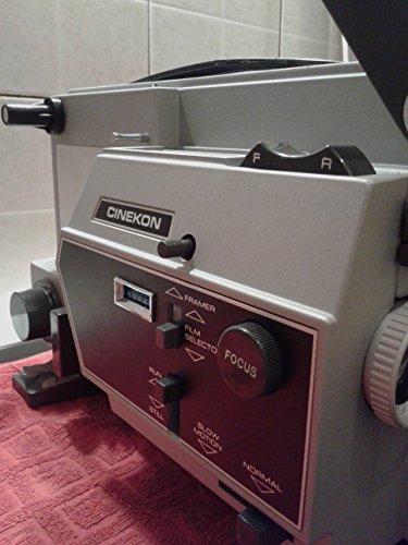 1970 s Vintage Cinekon Instduo S80 8mm Movie Projector (Full Working Condition!)