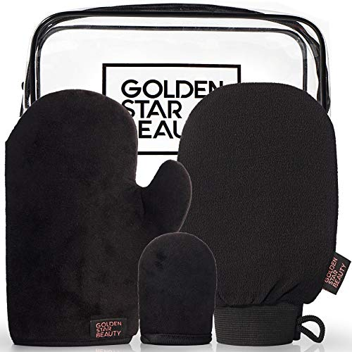 Golden Star Beauty Tanning Mitt Kit