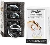 Masontops Pickle Pepple Infinitygewichte aus Glass zum Fermentieren - Set mit Gewichten für das...
