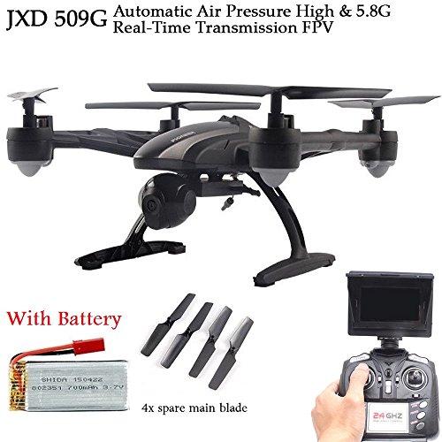Quadricottero Drone radiocomandato 5,8Ghz con telecamera wifi e visione realtime da Smartphone