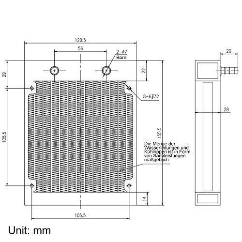 CLDIY Sistemas de refrigeración líquida