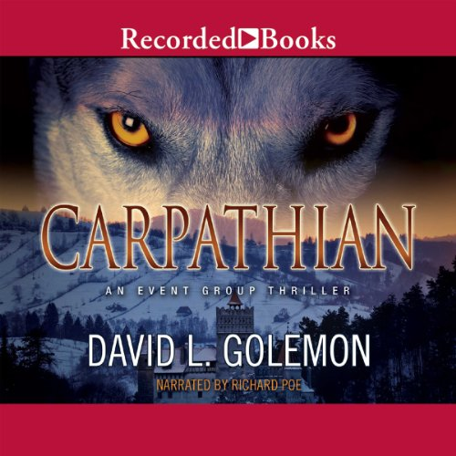 Carpathian audiobook cover art