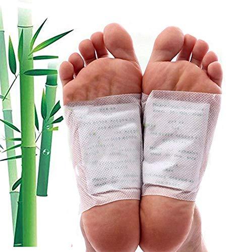 Bambus-Pflaster, 10 Stück, Giftstoffe los werden über Nacht mit der Kraft des Bambus