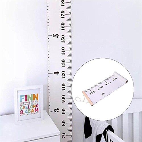Niños Tabla de crecimiento, para colgar altura pared regla medición de altura para pared Decor fotografía Props grande cinta métrica para bebé niño niños niños niñas niños
